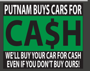 putnam buys car for cash